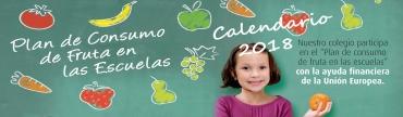 Plan de consumo de fruta en la escuela.